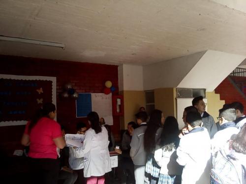Mesa votación